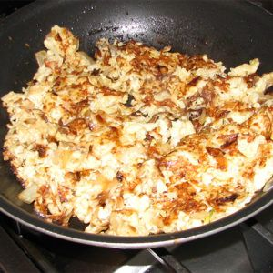 Photo of Cauliflower Hash Browns… Who Knew?