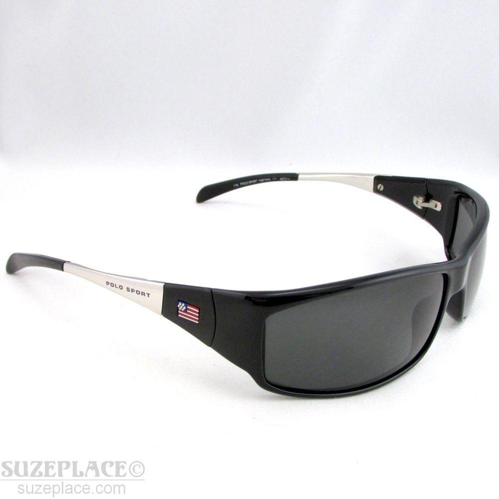Polo Model1087 Unisex Sport Ralph Sunglasses Lauren Black Frames 0nwPOkX8