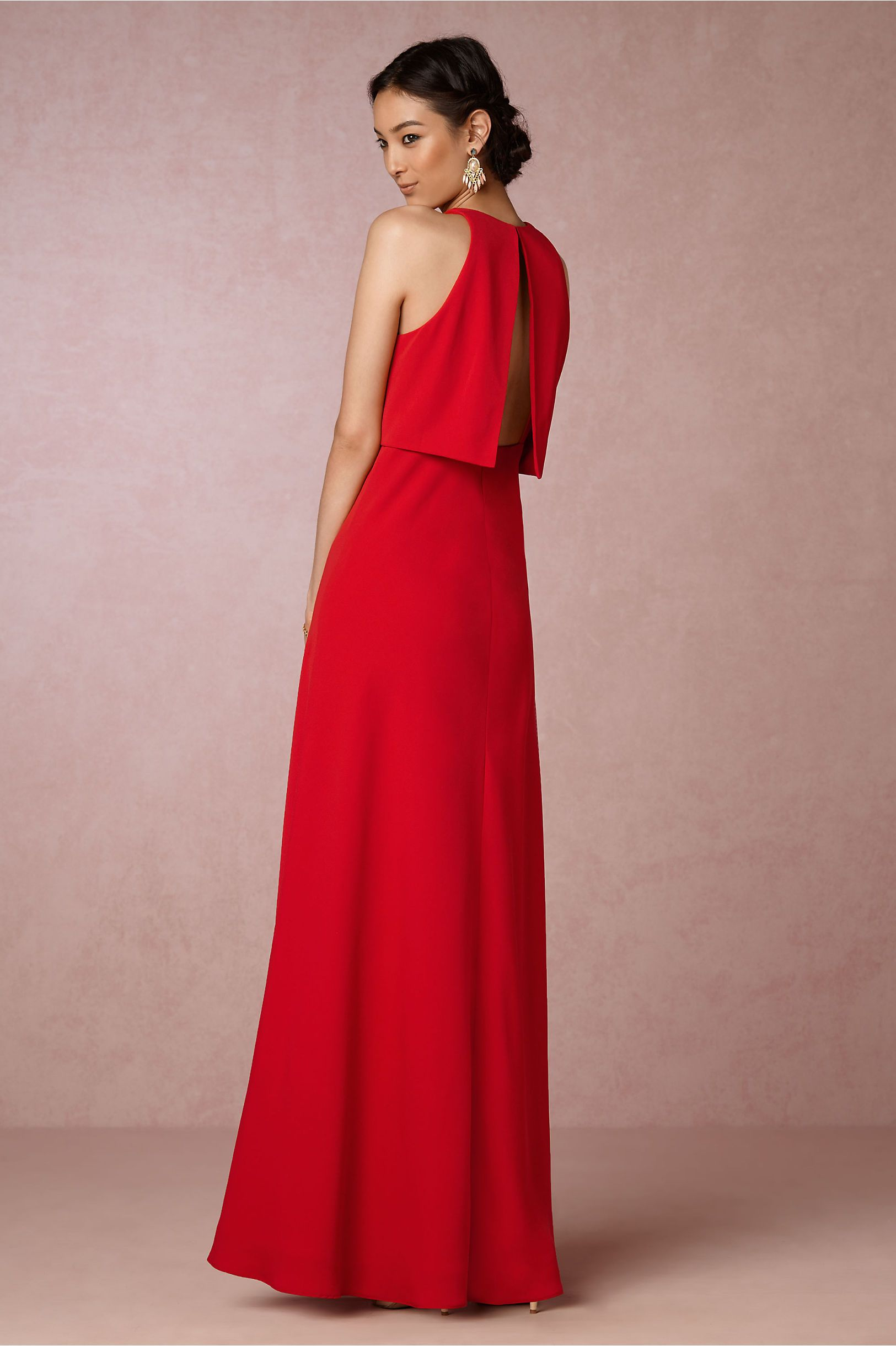 BHLDN Iva Crepe Maxi in Bridesmaids View All Dresses | BHLDN ...