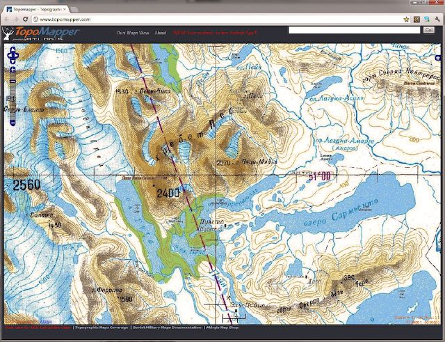 Free Online Interactive Topographic Maps By Region Permaculture - Interactive topo map
