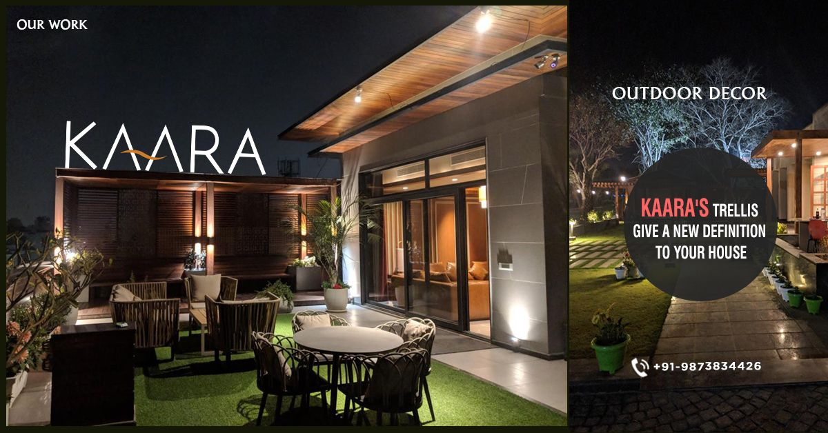 A great look for your house is waiting. Get KAARA's TRELLIS OUTDOOR DECOR and give a new definition to your home's appeal. For buying/ enquiries comment your Email address and phone number or you can also call us at +91-9873834426 OR mail us your details at contact@kaaradecor.com #Trellis #outdoordecor #outdoorhomedecor #outdoordecordesign #HomeDecoration #trellisDesign #kaara #Kaaradecor