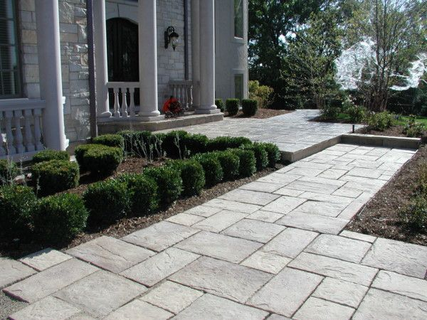 Brick Paver Walkway Designs | Please Click Photo For A Larger View.