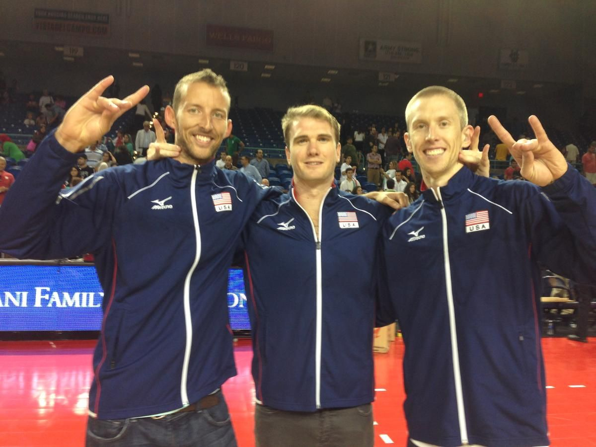 Usa Volleyball Team Men S Roster