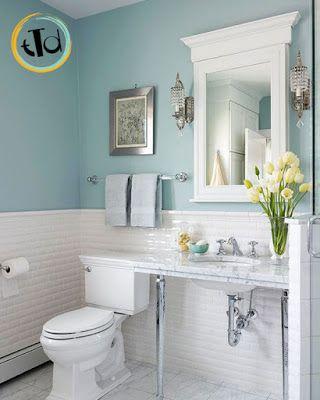 Il color carta da zucchero perfetto da abbinare alle piastrelline bianche che tanto si - 94 si fa in bagno ...