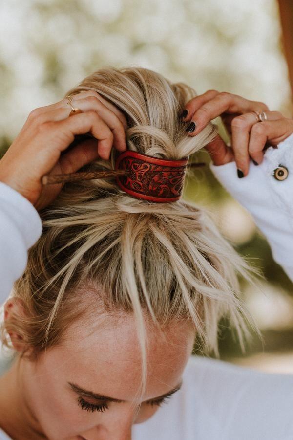 Bohemian Hair Accessories, Bun Wraps + Boho Head Wraps
