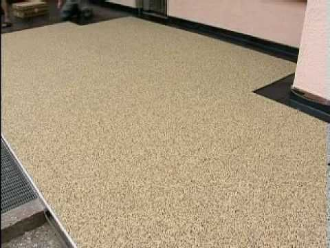 Steinteppich Badezimmer ~ Trendfloor steinteppich verarbeiten selbermachen macht spaß
