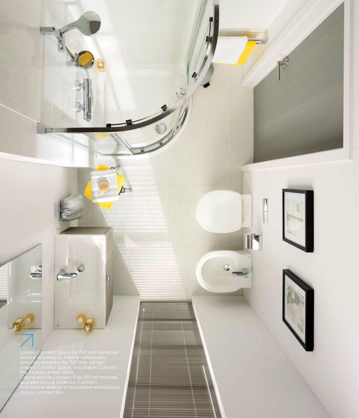 #homesweethome | Ottimizziamo lo spazio del bagno | Idee ...