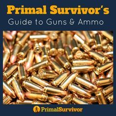 Weapons, Guns and Ammo - For Self Defense and Hunting #gunsammo