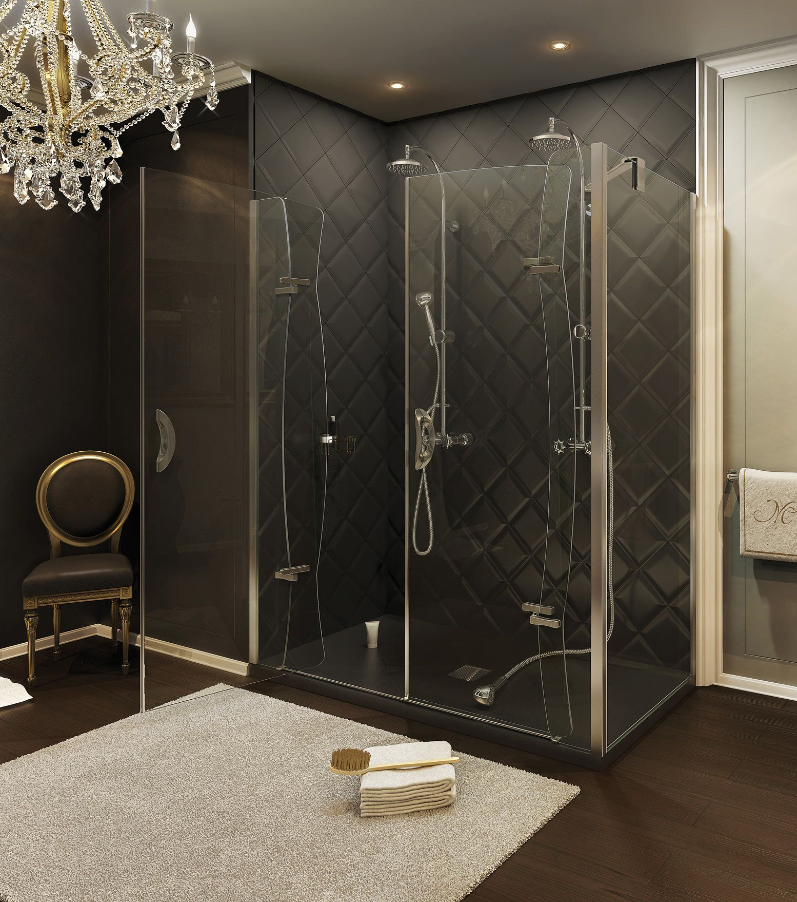 MAAX - PurfectKurv Corner Shower Door www.maax.com #Shower #Bathroom ...