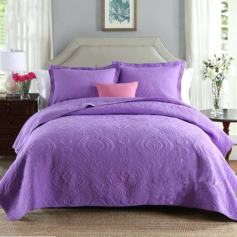 Purple Quilt Bedding Purple Bedspreads Cotton Bedding Sets Bedspreads King Size Purple Bedspread Purple Bedding Sets Chic Bedding Elegant Bedroom