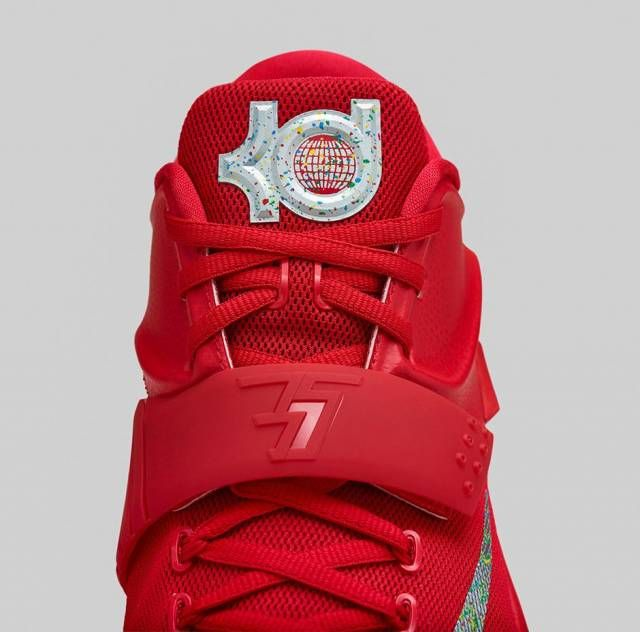0fddcfa1a311 Nike KD VII 7 Global Game Action Red