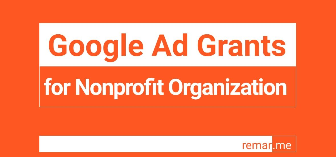 How To Apply For Google Ad Adwords Grants For Nonprofit Organization In 2020 Google Ads Adwords Advertising Networks