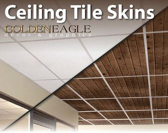 Drop Ceiling Decorative Tiles Ceiling Tile Skin Glue Up Dark Knotty Pine Wood Decorative Panel