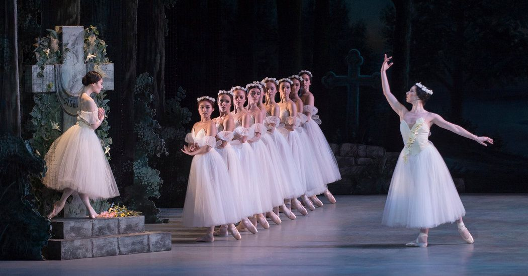Review: 'Giselle' Bounds With Experience    This Washington Ballet production is under the artistic direction of Julie Kent, a retired ballerina who spent 29 years with American Ballet Theater.   http://www.nytimes.com/2017/03/03/arts/dance/review-giselle-bounds-with-experience.html?partner=rss&emc=rss