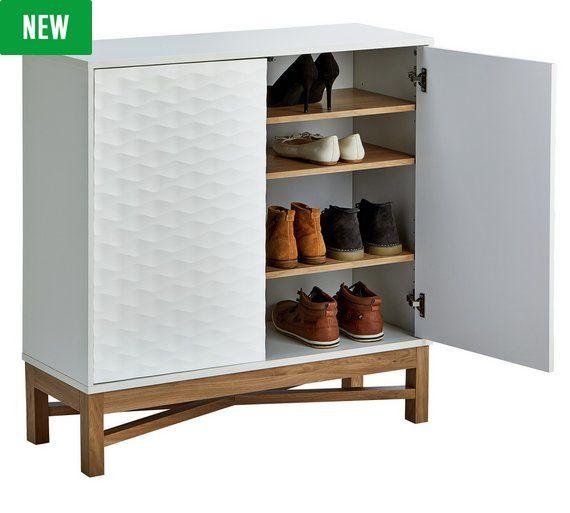 Hygena Zander 2 Door Shoe Cabinet At Argos Co Uk Visit
