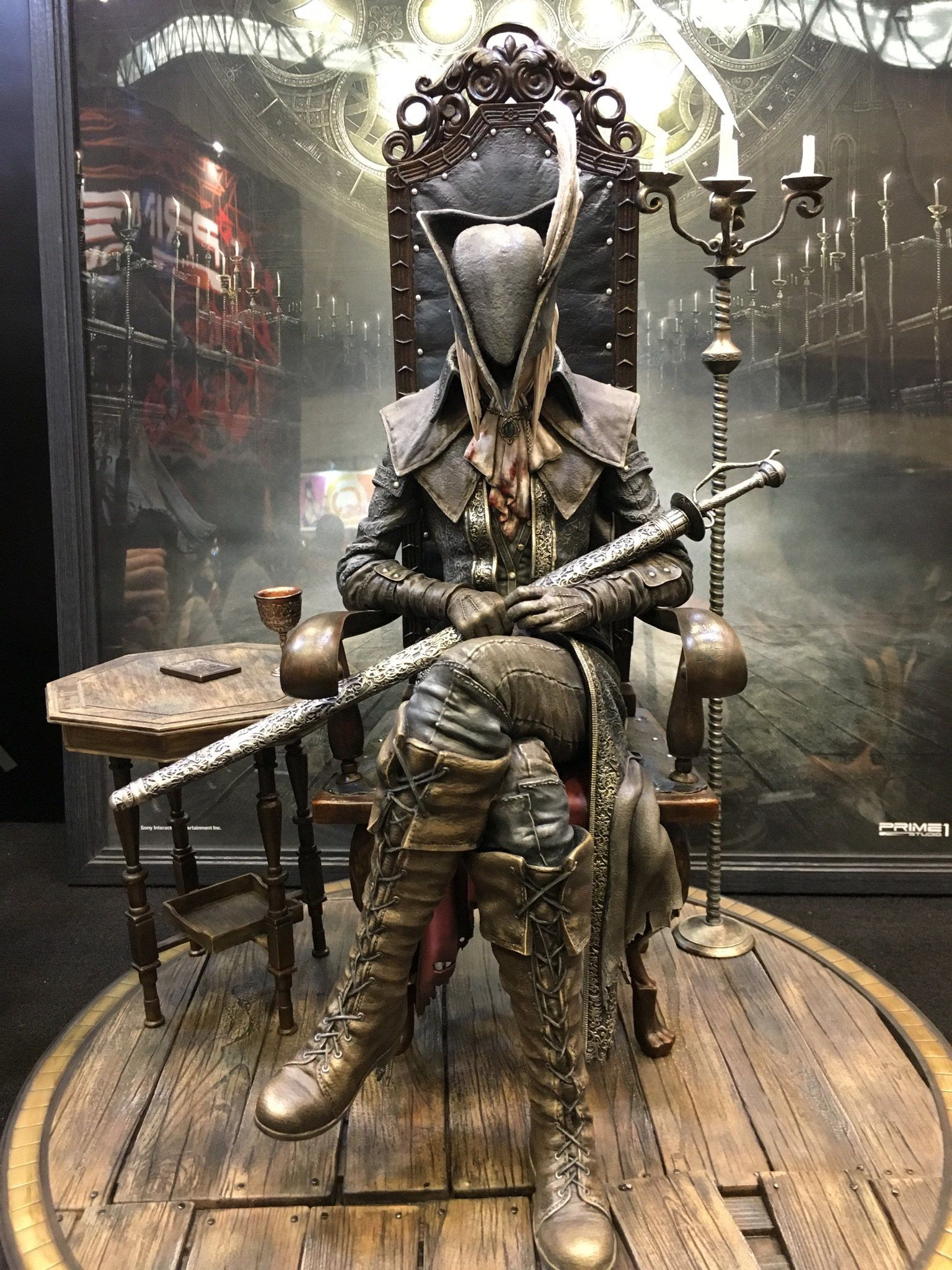Lady Maria Bloodborne Cosplay Bloodborne Figure Dark Souls Art