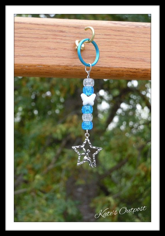 Fairy Star Key Chain by KatesOutpost on Etsy