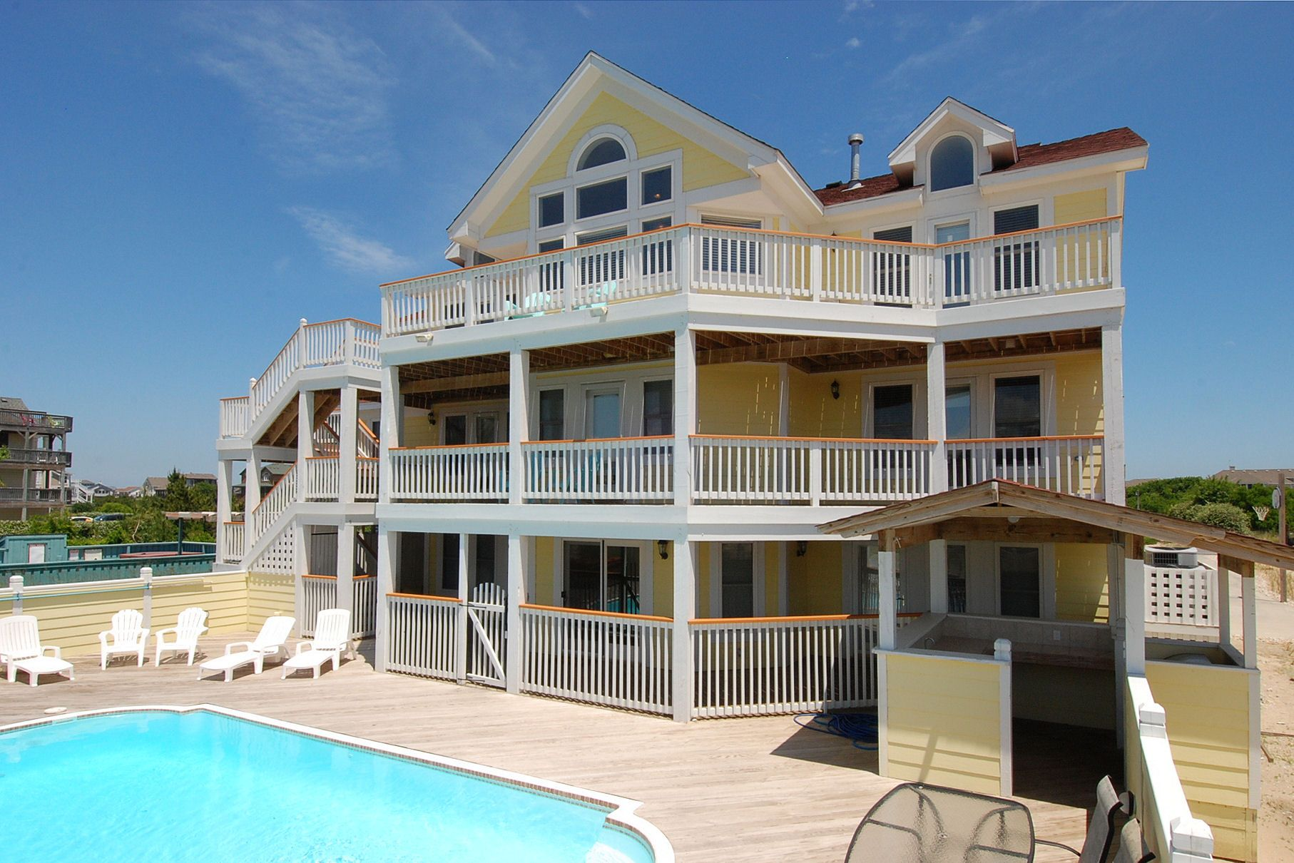 Big kahuna with images outer banks rentals obx