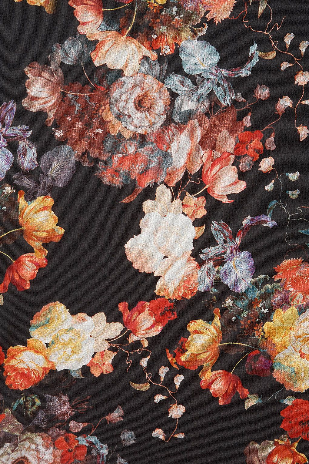 Vintage floral iphone wallpaper tumblr - L Dark Floral Pattern