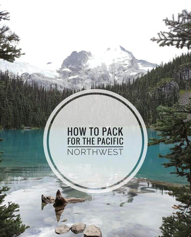 How to Pack for the Pacific Northwest - CANDICE CAMERA