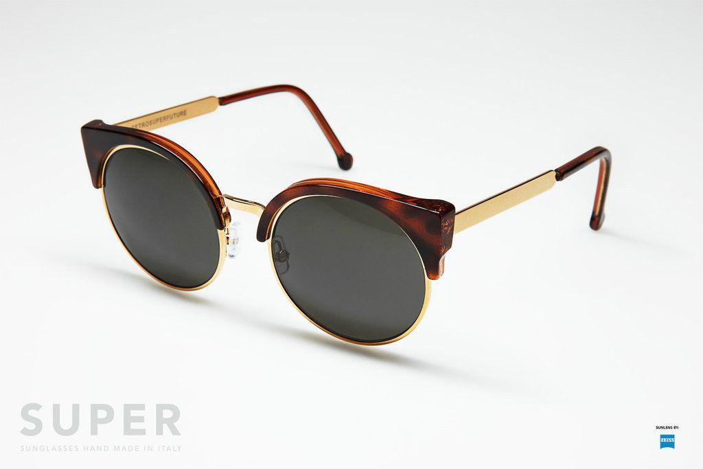 Gold SunglassesEyewearsunglasses Ilaria Retrosuperfuture® — E2YeHD9WI