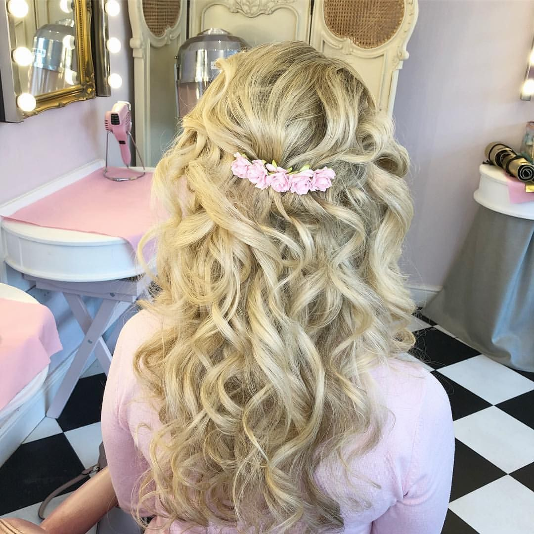 this photo is from my bridal hair trial with bethany from