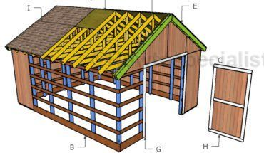 Photo of Free Pole Barn Plans | HowToSpecialist – How to Build, Step by Step DIY Plans