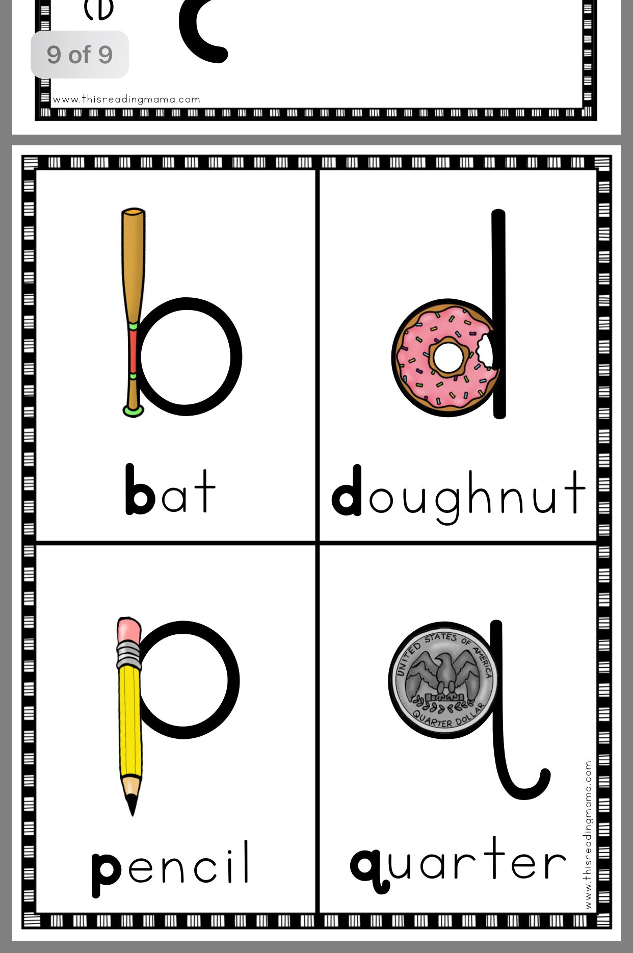 Visual Cues To Help Students With Reversals And Letter