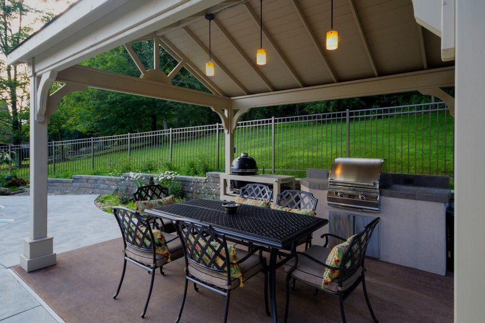 kitchen nice outdoor kitchen with gazebo small space lp gas built in grill stone bbq grill on outdoor kitchen gazebo ideas id=42551