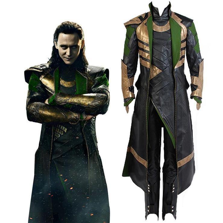 Thor The Dark World Loki Whole Set Cosplay Costume   Loki costume, Loki cosplay, Cosplay costumes