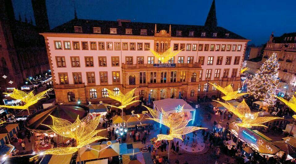 Wiesbadener Weihnachts Markt Christmas Markets Europe Christmas