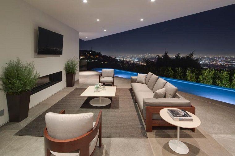 Risultati immagini per arredamento terrazzo moderno | ciao ciao ...