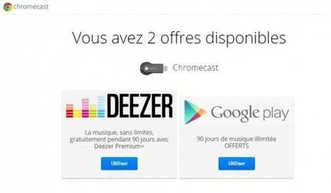 [Tutoriel] Comment activer les offres Google avec le Chromecast ? | Time to Learn | Scoop.it