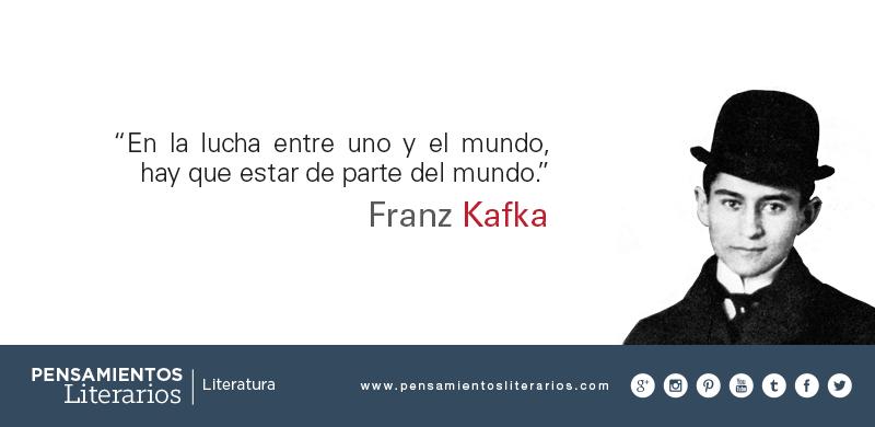Franz Kafka. Sobre de qué parte debemos estar.