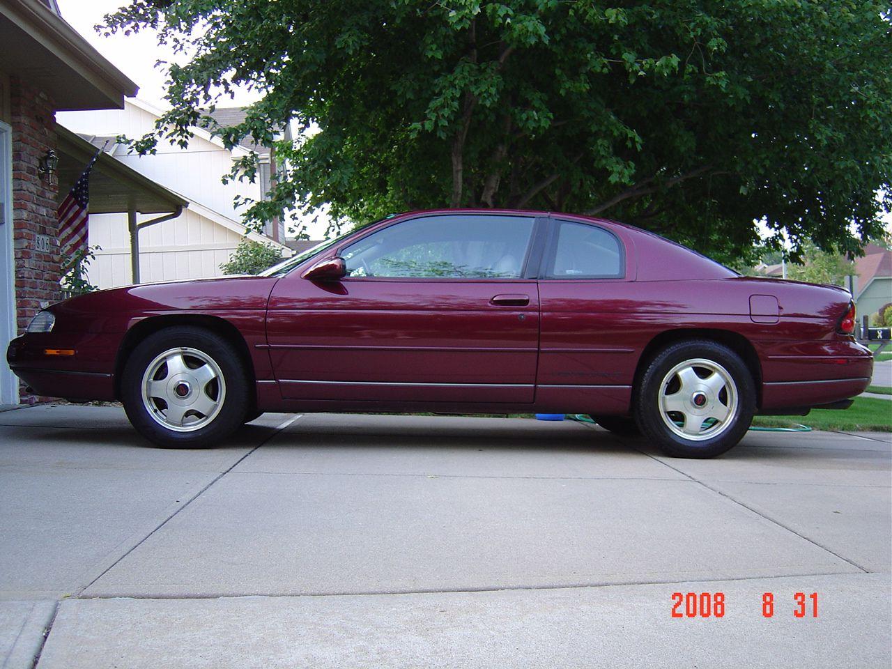 1998 Monte Carlo Z 34 Chevrolet Monte Carlo Chevrolet Monte Carlo