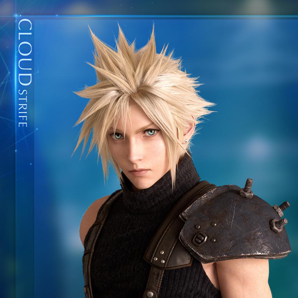 Cloud Strife Icon Final Fantasy Vii Cloud Strife Final Fantasy Art