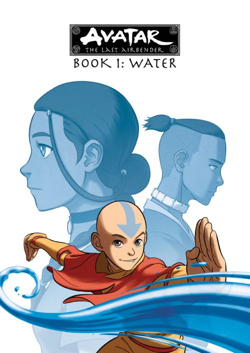 Cover For Book 1 Dvd Box Set Of The Complete Series Of Avatar The