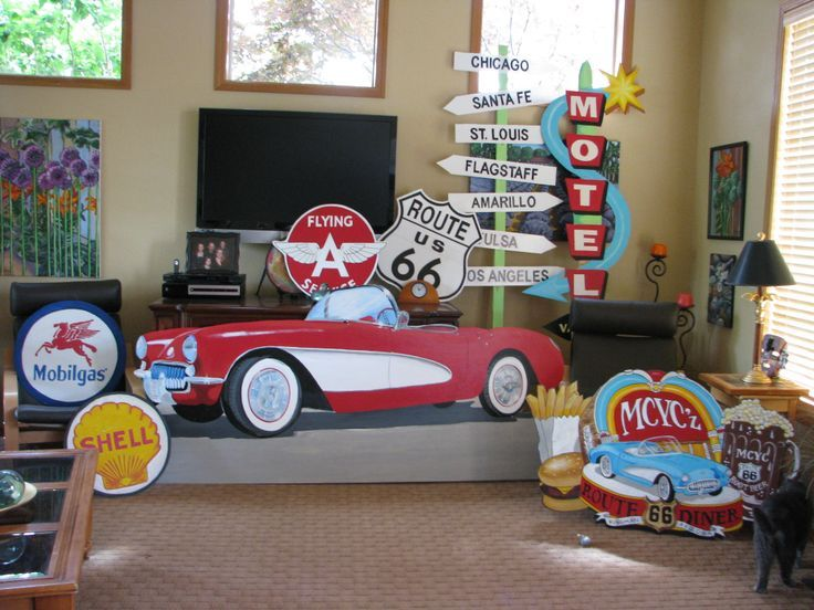 Route 66 Decorations For Party Google Search More