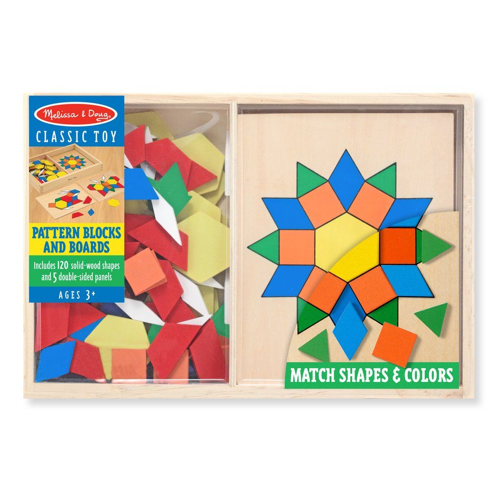 Pattern Blocks And Boards Pattern Blocks Melissa And Doug Pattern