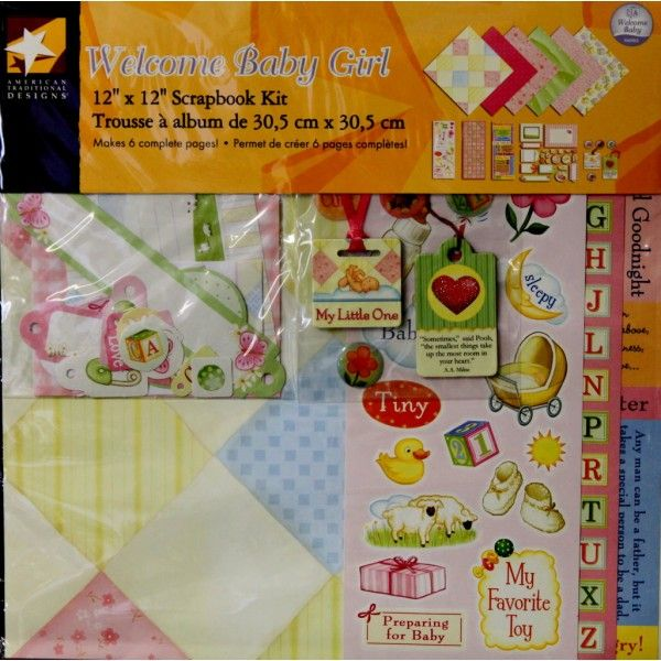 American Traditional Designs makes great scrapbook supplies and is available at Scrapbookfare.com.