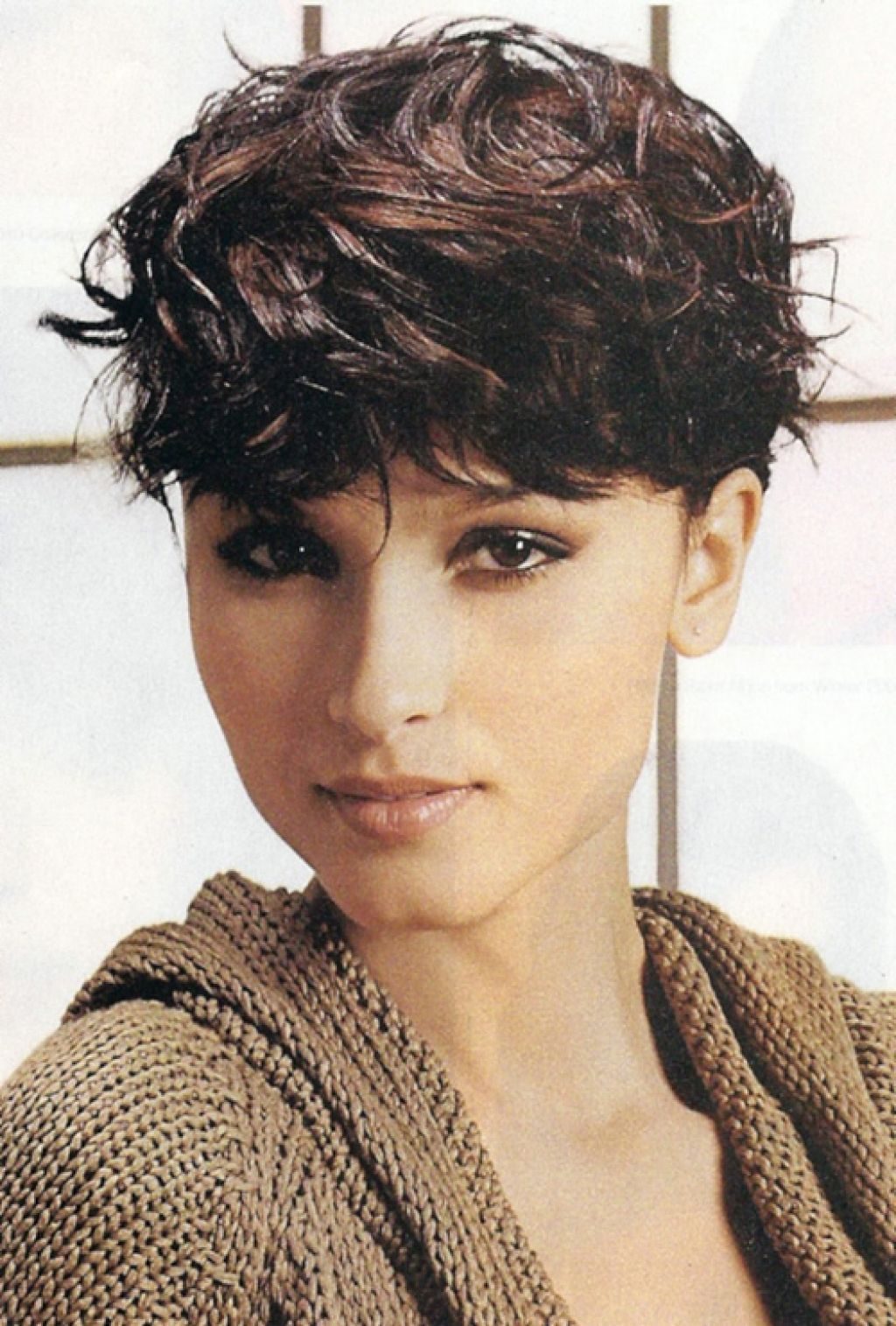 Short Pixie Haircuts For Thick Wavy Hair New Short Hairstyle