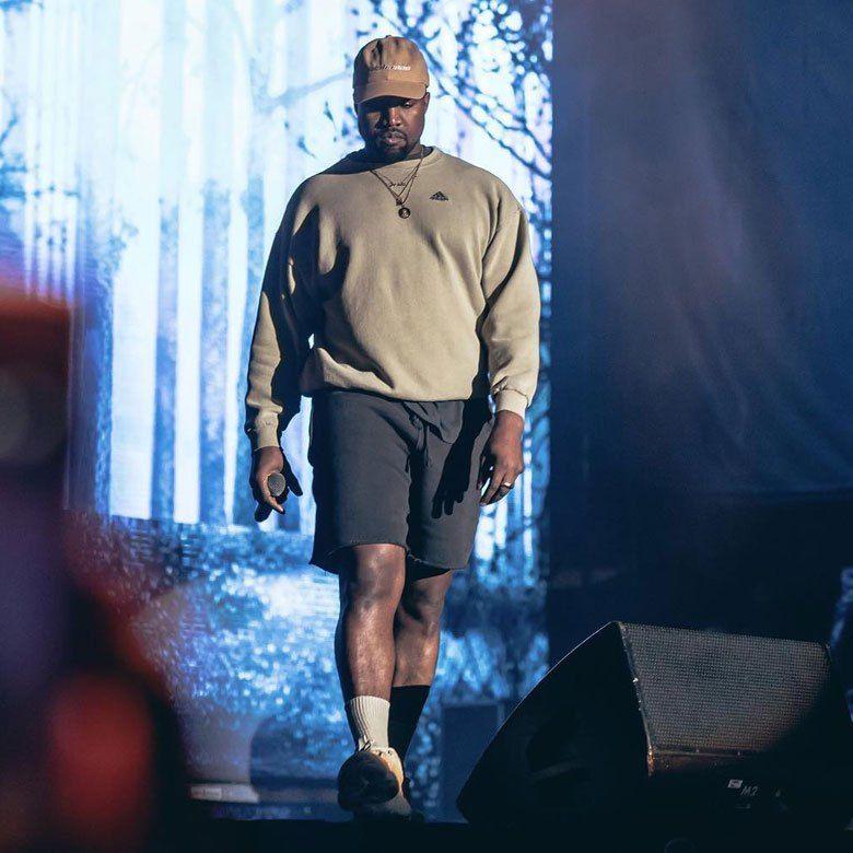 Kanye West Makes Rare Appearance At Adidas 747 Warehouse St Kanye West Adidas Adidas Shoes Superstar Adidas Ultra Boost