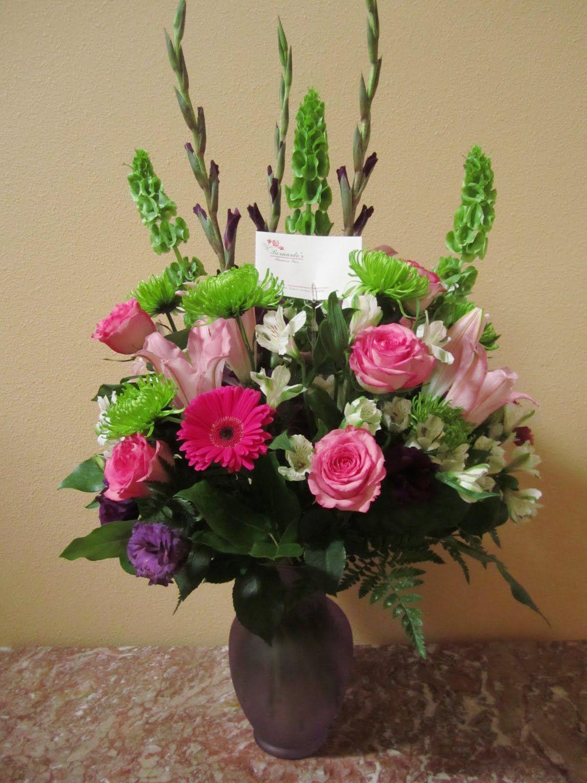 Flower Arrangements For January Spring Mix Flower Vase Arr