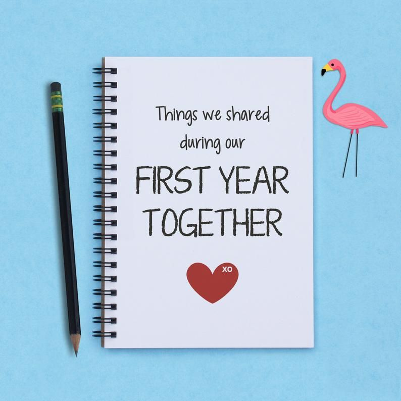 First year together first anniversary Things We Shared