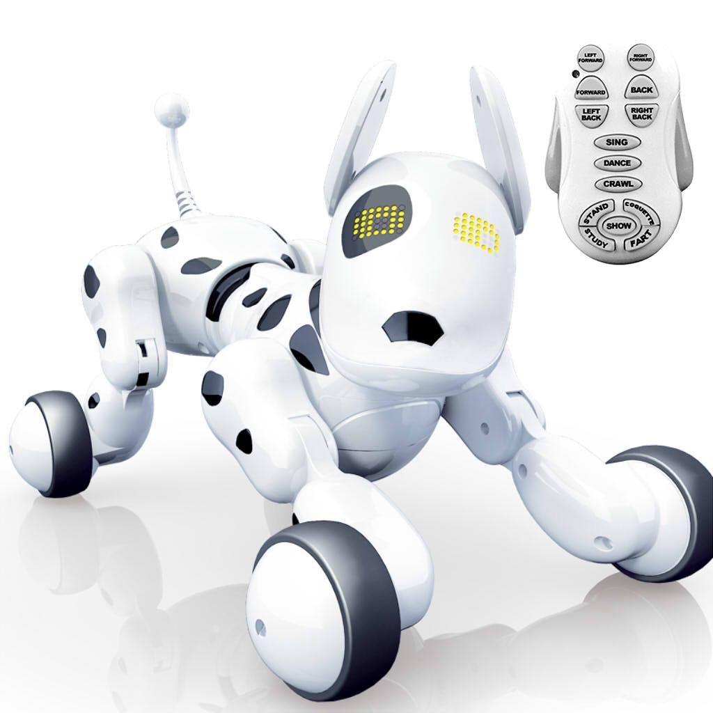 Remote Control Robot Dog Interactive Puppy Dog Educational Toy