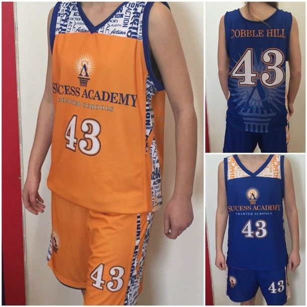 eaed1ac7271f New reversible sublimated basketball uniform for our friends at Success  Academy. Check out that watermark!  teamsportsplanet  tsp   sublimateduniforms ...