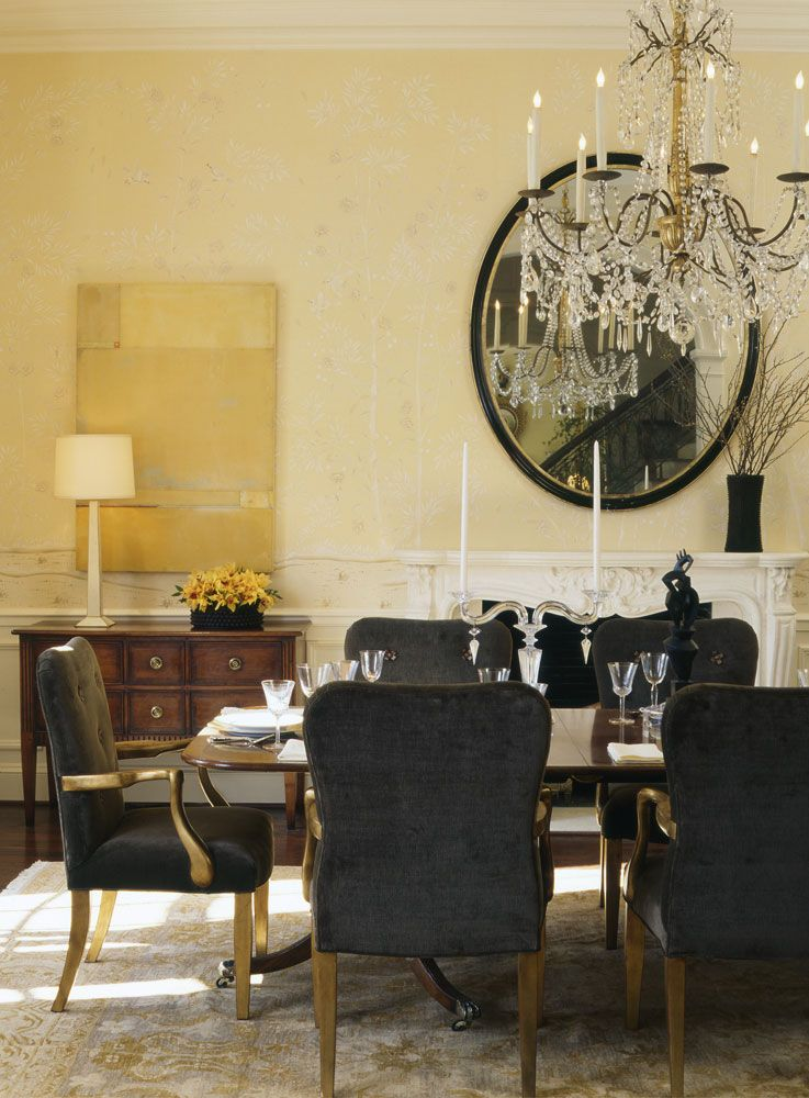 Formal dining rooms de Gournay Our