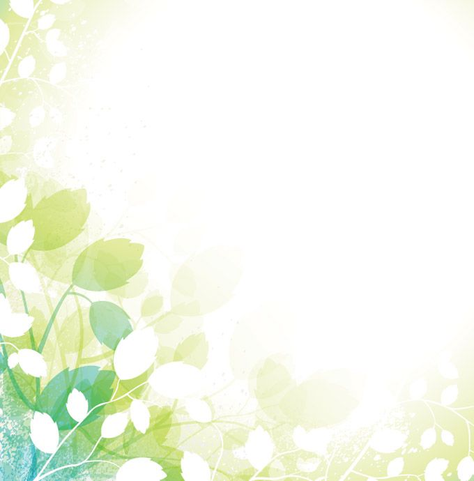 Download and enjoy this fresh, green spring background vector for - fresh invitation template vector