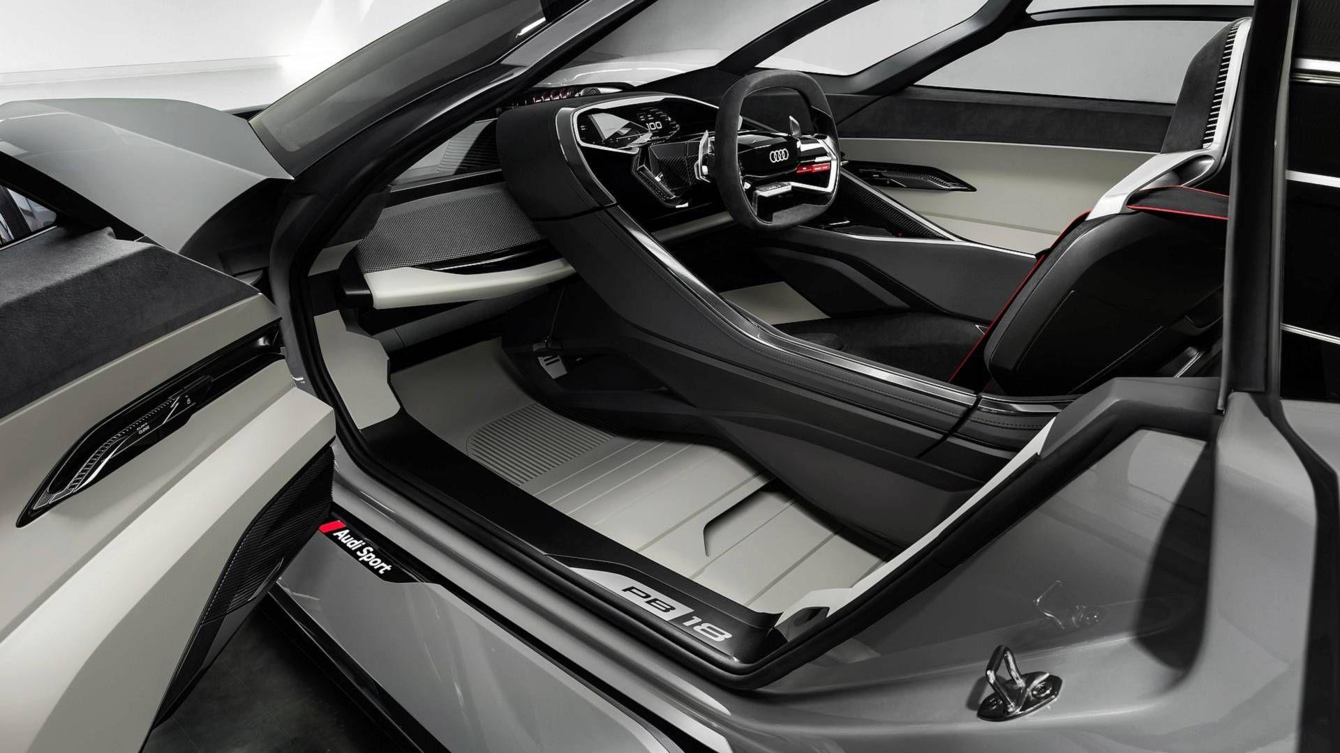 Audi Pb18 E Tron 2018 3d Model Vehicles On Hum3d