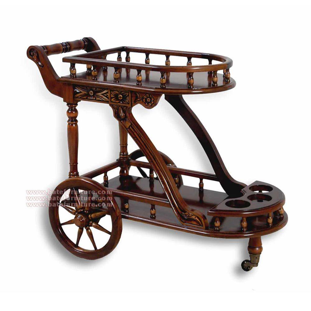 Buy Antique Trolley Cart | Mahogany Antique Furniture | Indonesia Furniture - Buy Antique Trolley Cart Mahogany Antique Furniture Indonesia